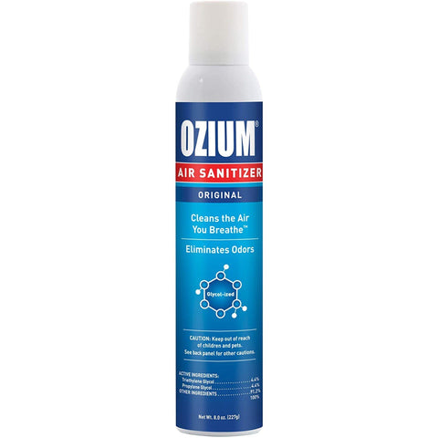Ozium Air Sanitizing Spray (8oz) First Aid Supplies Proctor + Gamble