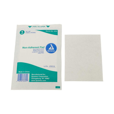 Non-Stick Gauze Pads (sterile) First Aid Supplies Dukal / Dynarex