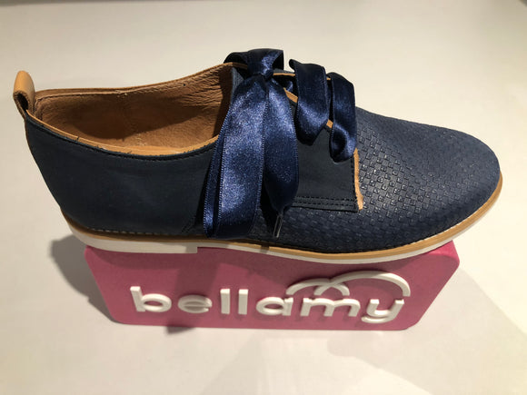 Chaussures basses Bellamy Tap pilage navy