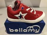 Chaussures basses Bellamy gain rouge