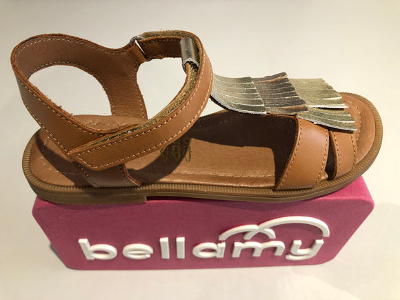 Sandalettes Bellamy Trisby camel or