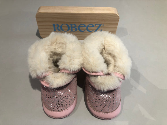 Chaussons Robeez Cosy boot rose