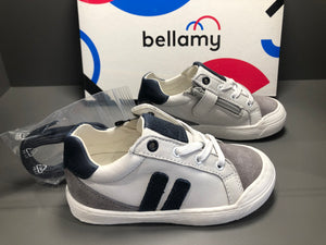 Chaussures basses Bellamy gag gris blanc