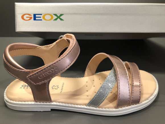Sandalettes Geox Karly rose
