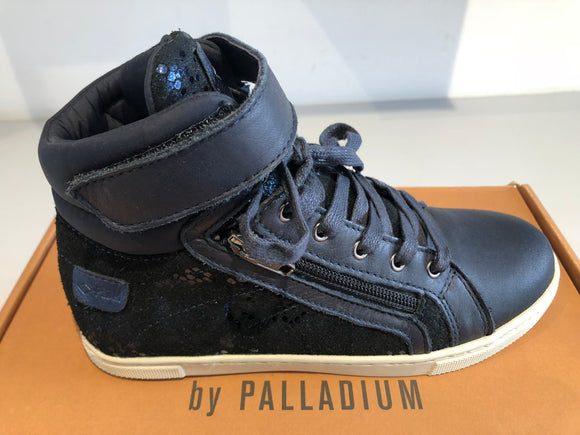 Bottines palladium veleda navy