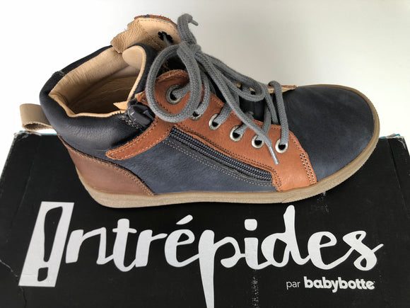 Bottines Babybotte Kentin gris