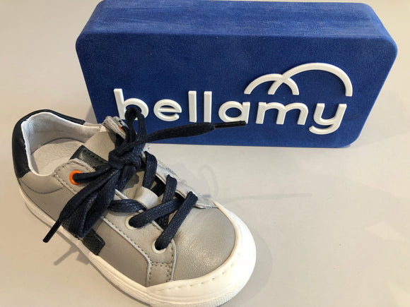 Chaussures basses bellamy gag gris marine