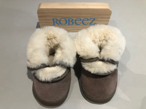 Chaussons Robeez Cosy boot marron clair