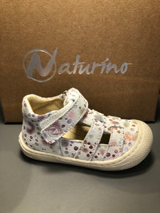 Babies Naturino Bede suede rainbow white