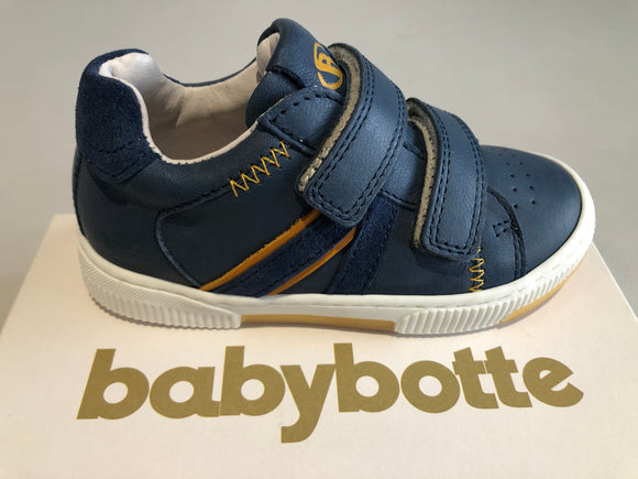 Chaussures basses Babybotte 7531B514 jeans