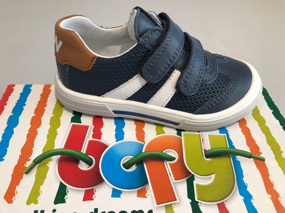 Chaussures basses Bopy vacarme marine