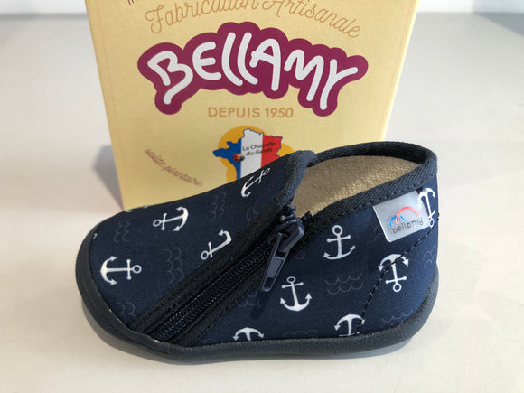 Chaussons Bellamy persan ancre