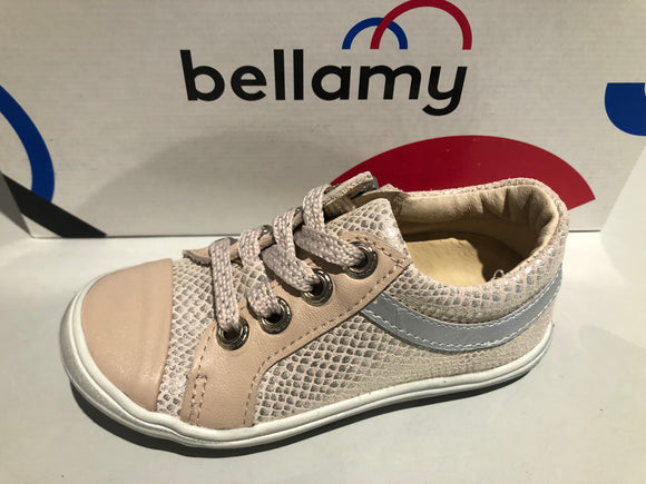 Chaussures basses Bellamy marina croco rose
