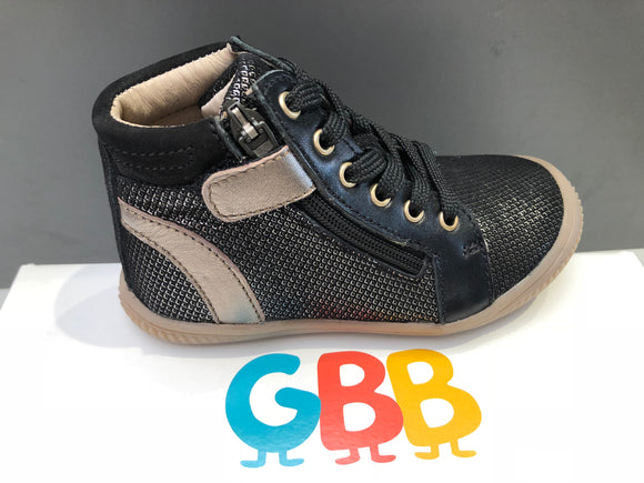 Bottines GBB Rachida noir bronze