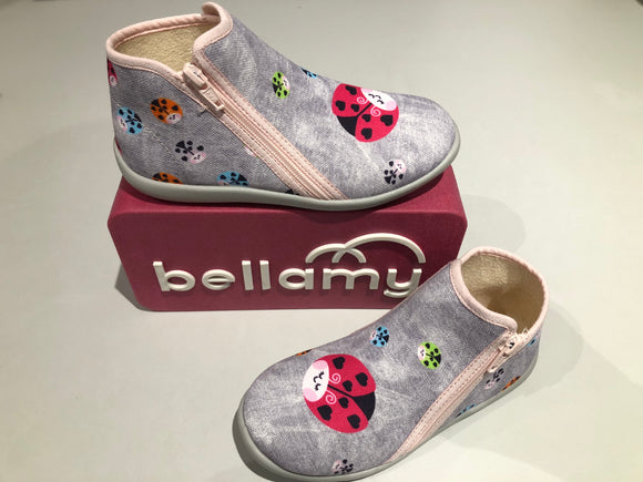 Chaussons Bellamy Danube coccinelle gris