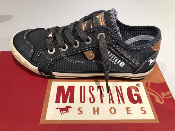 Chaussures basses mustang Farbe noir