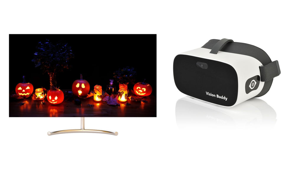 Low Vision? Watch Your Favorite Halloween Movies with Vision Buddy!
