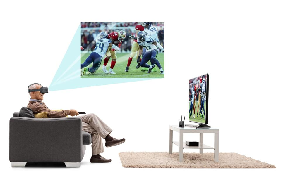 Upgrade your TV Setup with a Vision Buddy.