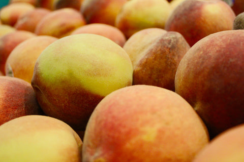 A bunch of peaches.