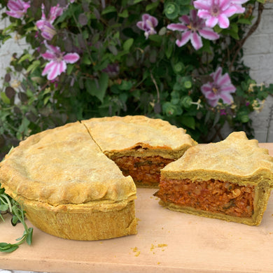 Curried Lentil Pie Food Broome Farm Guesthouse