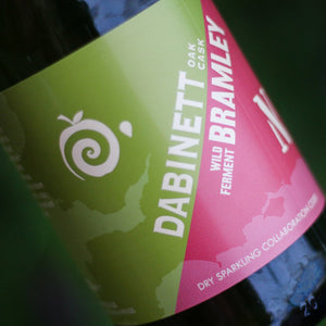 Dabinett/Bramley Collaboration Sparkling Cider - 750ml