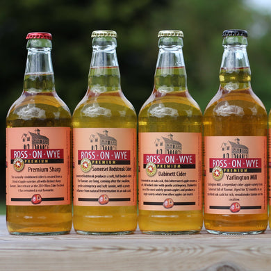Premium Cider - 500ml Bottles bottled Ross on Wye Cider & Perry Co. Ltd.