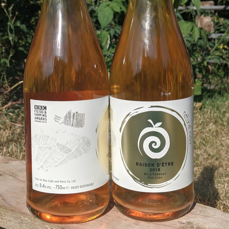 2018 Raison d'Être Cider - 750ml bottled Ross on Wye Cider & Perry Co. Ltd.