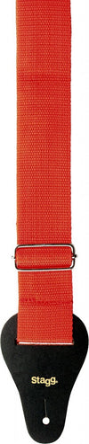 "Stagg Guitar Strap Red 2"" BJA006RD"