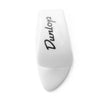 Dunlop Guitar Thumb Pick Plastic Small White Pack of 12