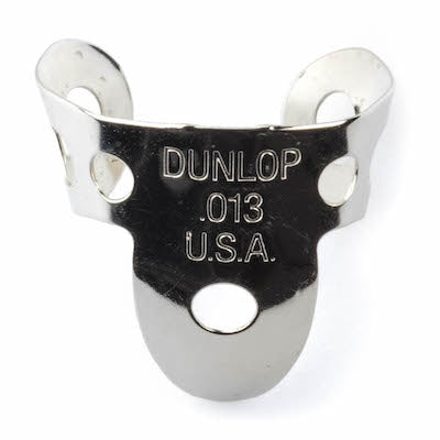 Dunlop Nickel Silver Metal Pack Thumb and Finger Picks - 4x.013 Fingerpick 1x Thumb