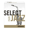 D'addario Select Jazz Filed Strength 4 Soft Tenor Saxophone Reeds Pack of 5