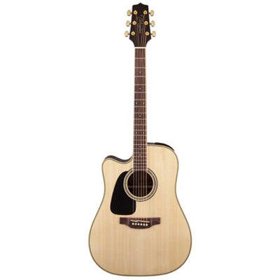 Takamine GD51CE Left Handed Mahogany Dreadnought Cutaway Natural Electro Acoustic Guitar