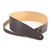 "Henry Heller Guitar Strap 3.5"" Capri Leather HCAP35 Black"