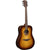 LAG T118D BRS Dreadnought Brown Shadow Solid Top Red Cedar Acoustic Guitar