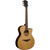 LAG T118SASCE Auditorium Slim Body Natural Solid Top Red Cedar Electro Cutaway Acoustic Guitar