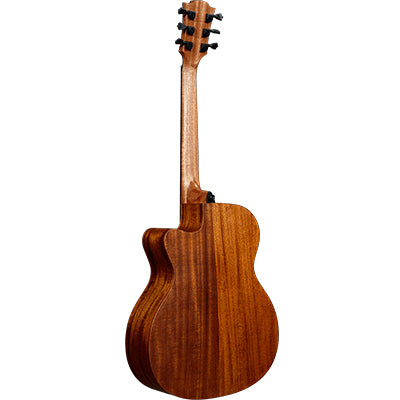 LAG T170ACE Auditorium Red Cedar Natural Cutaway Electro Acoustic Guitar