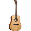 LAG T170D Dreadnought Red Cedar Natural Acoustic Guitar