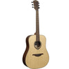 LAG T270D Dreadnought Natural Engelmann Spruce Acoustic Guitar