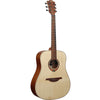 LAG T70D-HIT Dreadnought Canadian Spruce Top Acoustic Guitar With Head stock Tuner