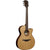 LAG T118ACE Auditorium Natural Solid Top Red Cedar Electro Cutaway Acoustic Guitar