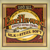 Ernieball Earthwood Acoustic Guitar Strings 80/20 Bronze Silk 'n' Steel Soft 11 - 52