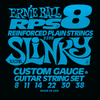 Ernie Ball RPS Nickel Wound Guitar Strings Reinforced Extra 8 - 38
