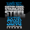 Ernie Ball Stainless Steel Guitar Strings Slinky Extra 8 - 38