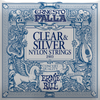 Ernieball Ernesto Pall Classical Guitar Strings Nylon Clear and silver