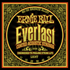 Ernieball Everlast Coated Acoustic Guitar Strings 80/20 Bronze Light 11 - 52