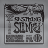 Ernie ball Slinky Nickelwound 9 String Guitar Strings 9-105
