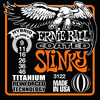 Ernie Ball Coated Slinky Titanium Wound Guitar Stings Hybrid 9 - 46