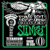 Ernie Ball Coated Slinky Titanium Wound Guitar Stings Not Even 12 - 56