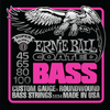 Ernieball Coated Nickel Roundwound Bass Strings Slinky Super 45-100