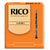 Bass Clarinet Reeds Strength 2 Rico Standard Orange 25 Pack